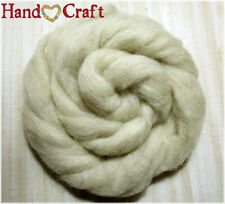 Natural Chai Tea Merino Wool Roving ~ 1 Ounce ~ Crafts Spinning Fiber Felting