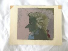 Screenprint in Color signed by Joseph Solman