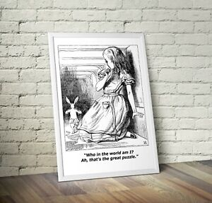 Vintage Alice In Wonderland Art Print 10 - Nursery New Arrival