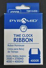 Pyramid 4000r Time Clock Ribbon For 3500 3700hd 4000 4000hd