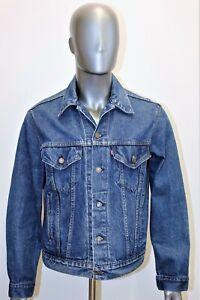 LEVIS denim trucker jacket vintage 80's taille L 44 Reg US 50 EUR made in USA