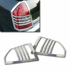 For 2005-2007 Chrysler 300/300C Chrome Taillight Tail Light Trim Bezel Covers
