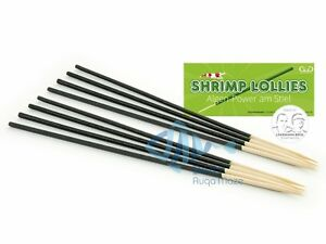 Garnelenhaus Shrimp Lollies Algae Stick 8 pc Crystal Bee Cherry Shrimp Food