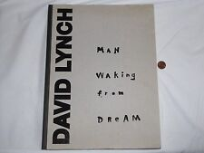 David Lynch - Man Waking From Dream Book Rare 2012 Frac Auvergne Art Exhibit