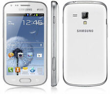 Brand New Samsung Galaxy S Duos GT-S7562 Dual SIM white Mobile Phone Unlocked
