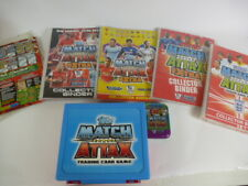 Job Lot Topps Match Attax Trading Cards Folders, Cards & Case 2007/08
