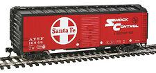 Spur H0 - 40' AAR 1948 Boxcar Santa Fe -- 1751 NEU