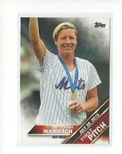 2016 Topps First Pitch #FP1 Abby Wambach Mets