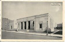 Post Office in Hagerstown MD Postcard