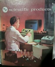 VERY RARE 1964 SCIENTIFIC Products Catalog HIGH TECH EQUIPMENT PRODUCTS MCM BOOK