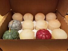 NEW!!!  One Dozen Assorted Scent Votive Candles in Box