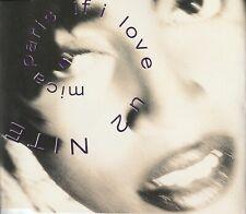 MICA PARIS IF I LOVE U 2 NITE CD SINGLE UK 1991 4TH & BROADWAY BRCD 207