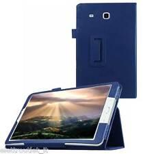 CUSTODIA COVER Integrale SMART SUPPORTO per Samsung Galaxy Tab E 9.6 T560 Blu