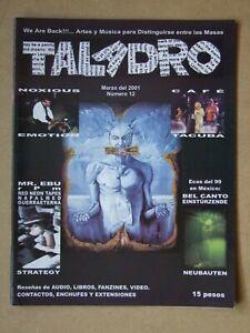 TALADRO #12 2001: Noxious Emotion, Cafe Tacuba, Mr.Ebu, rPm, Red Neon Tapes, Nap