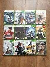 Xbox 360 paquete de juegos-juego credo, bacalao, controlador, olvido + Más - 12 Juegos