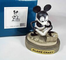 """Walt Disney Classic Collection: """"How to Fly"""", Mickey Mouse, Plane Crazy, w/ Base"""