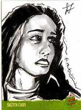 Night of the Living Dead Sketch Card drawn by Tom Savage /1