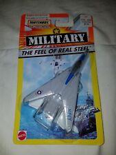 Mattel Matchbox Military - Diecast Airplane - F-14 Tomcat Navy