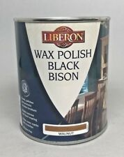 Liberon Fine Paste Wax Walnut 1 Liter Can