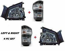 GMC W SERIES NPR NQR 2006-2007 TRUCK TURN SIGNAL LIGHTS HEADLIGHTS SET 4PC