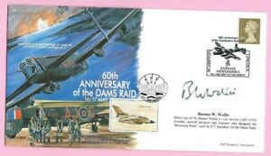 AVIATION COLLECTABLES 2003 Cover DAMBUSTERS Signed BARNES W WALLIS Shs SCAMPTON