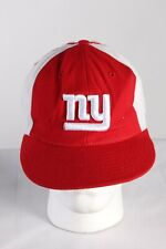 Vintage Reebok NFL New York Giants Baseball Adjustable Cap Hat Red HAT428