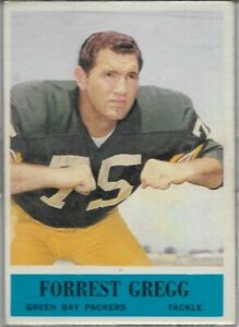 Forrest Gregg 1964 Philadelphia Green Bay Packers Football Card