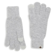 NWT UGG Women's Tech Knit Gloves, Sterling, One Size, Touchscreen Technology