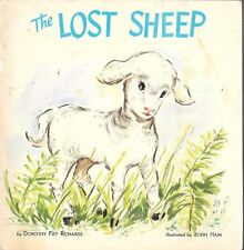 vintage 1982 PB the lost sheep children's book dorothy richards bible parable