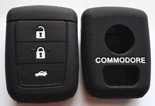 BLACK SILICONE KEY COVER SUITS HOLDEN REMOTE MALOO SS V8 SV6 VE COMMODORE