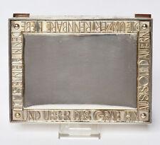 Nov. 2014. verglasung. Zffbl.: Silber, aufgelegte Goldornamente, radiale röm.
