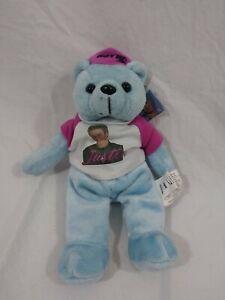 NSYNC Justin Timberlake Plush Bean Bag Bears 2000 Limited Edition Rare Bear Cub