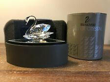 Swarovski Crystal - Retired Swan 7633 10006 - COA MIB