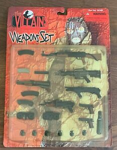 NEW The Villains Weapons Set - 1:6 Scale 21st Century Toys Ultimate Soldier 2000