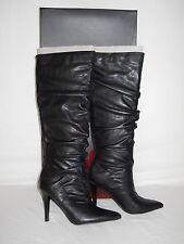 Carlos By Carlos Santana New Womens Chase Black Boots 5.5 M Shoes NWB