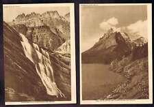 Lake Saint Mary-Morning Eagle Falls 1912 Lithographs