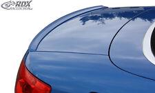 RDX Hecklippe Audi A4 B6 8H Cabrio Heckspoiler Spoilerlippe Heck Spoiler Lippe