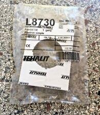 Tehalit (Hager) Geräteblende, OVP L8730 für BR-Kanal 100mm RAL 9001, weiß