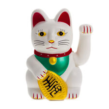 16cm Winkekatze Maneki Neko Geld Gesundheit Weisheit Japan China Taiwan Thailand