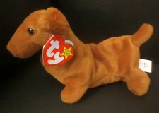 269325ad59e TY Beanie Baby Weenie 1995 PVC Filled 4th Generation