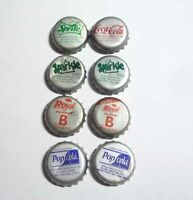 9pc Lot Metal Soda Bottle Cap Crown PHILIPPINES 2008-2012 PEPSI Brand
