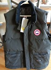 CANADA GOOSE men's XL Freestyle Crew DOWN vest NWT