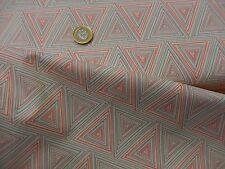 Art Gallery Fabrics Minimalista Prisma Watermelon pink/grey dressmaking/craft