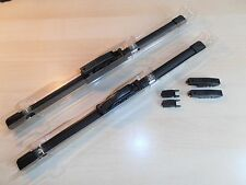 """11""""x 7mm bayonet/hook Trico Flat Wiper Blades suit Classic and older cars (Pair)"""