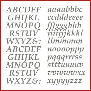 Sticky Back Vinyl Letters Italic Alphabet 15/20/25/30/40 mm signs banners shops