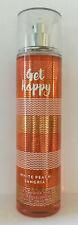 Bath And Body Works Get Happy Fine Fragrance Mist 8oz / 236ml Brand New