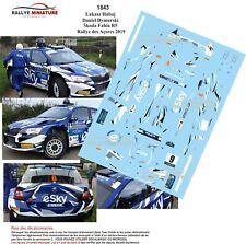 Calcomanías 1//43 Ref 1847 Fabia R5 Tsouloftas Rallye Azores 2019 Azores Rally