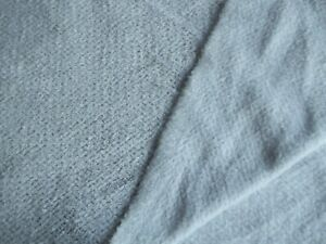 High Performance Vapor Blue Curly Chenille Fleece 60 Wide Poly 50% Stretch BTY