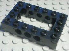 LEGO TECHNIC Lochstein 4x6 noir (1696)