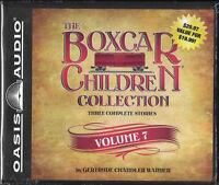 NEW The Boxcar Children Collection Volume 7 CD Audio Gertrude Chandler Warner